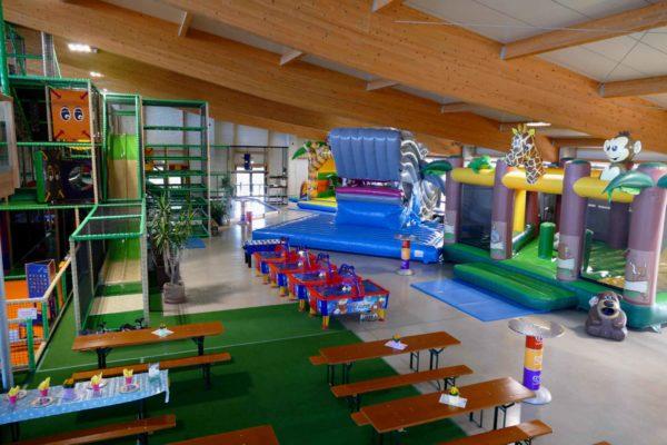 Indoorspielplatz Spielwelt Sonnenlandpark